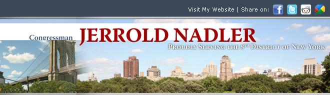 U.S. Representative Jerrold Nadler